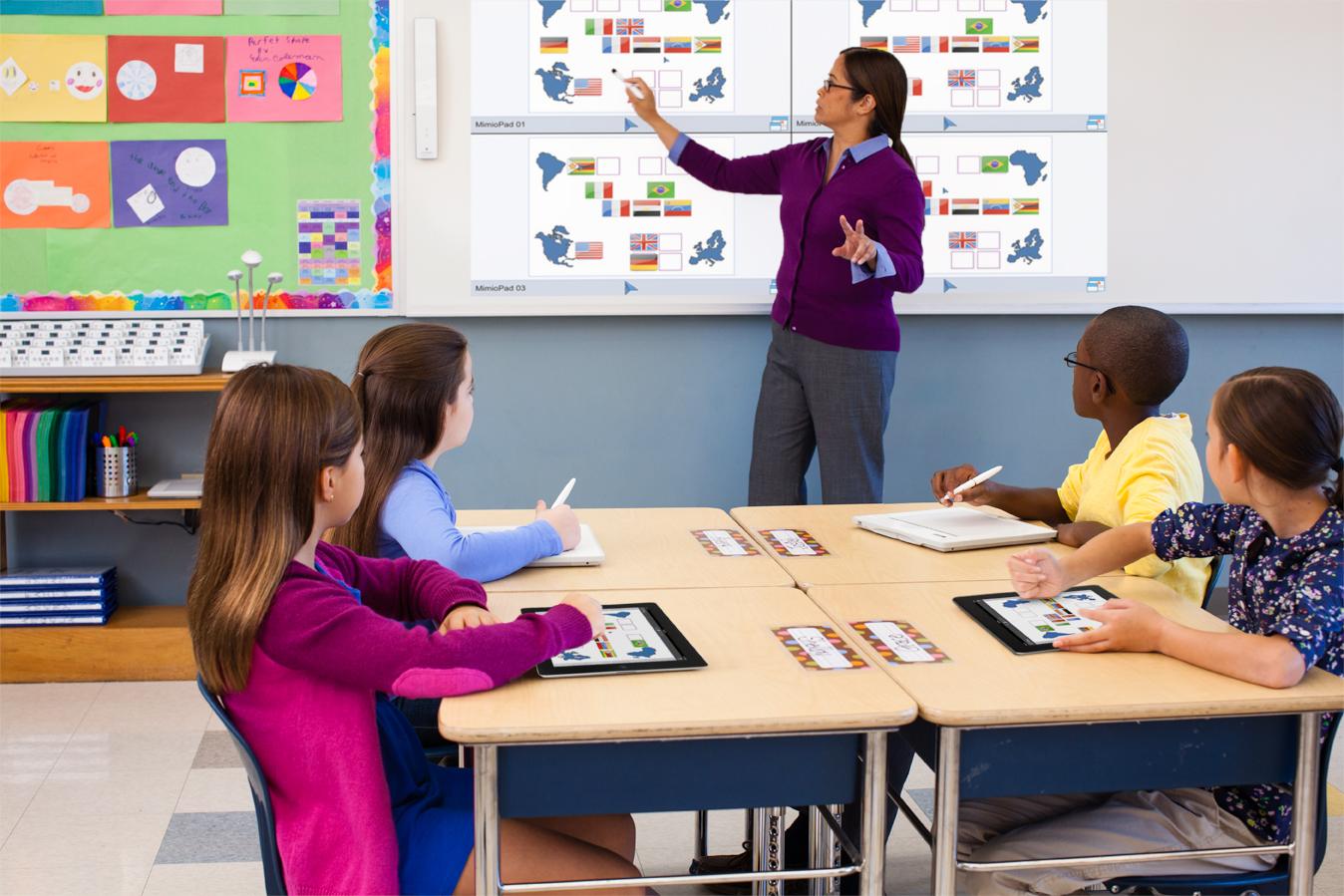 Collaborative Classroom Van Pelt : Mimiostudio tantermi szoftver mimio